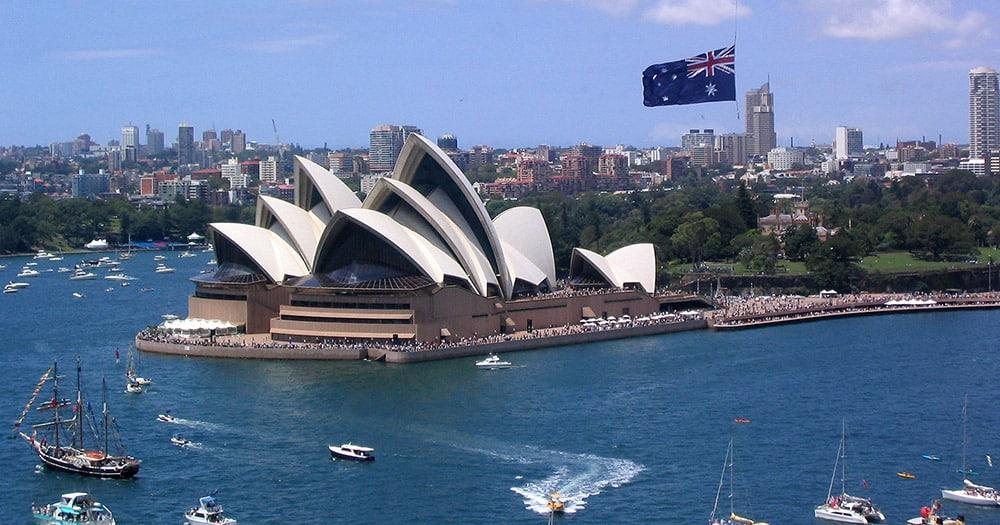 Australia Day, Sydney Harbour